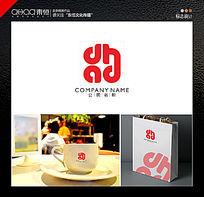 时尚大气字母logo设计 CDR