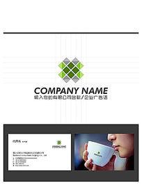 时尚立体建筑地产LOGO标志设计
