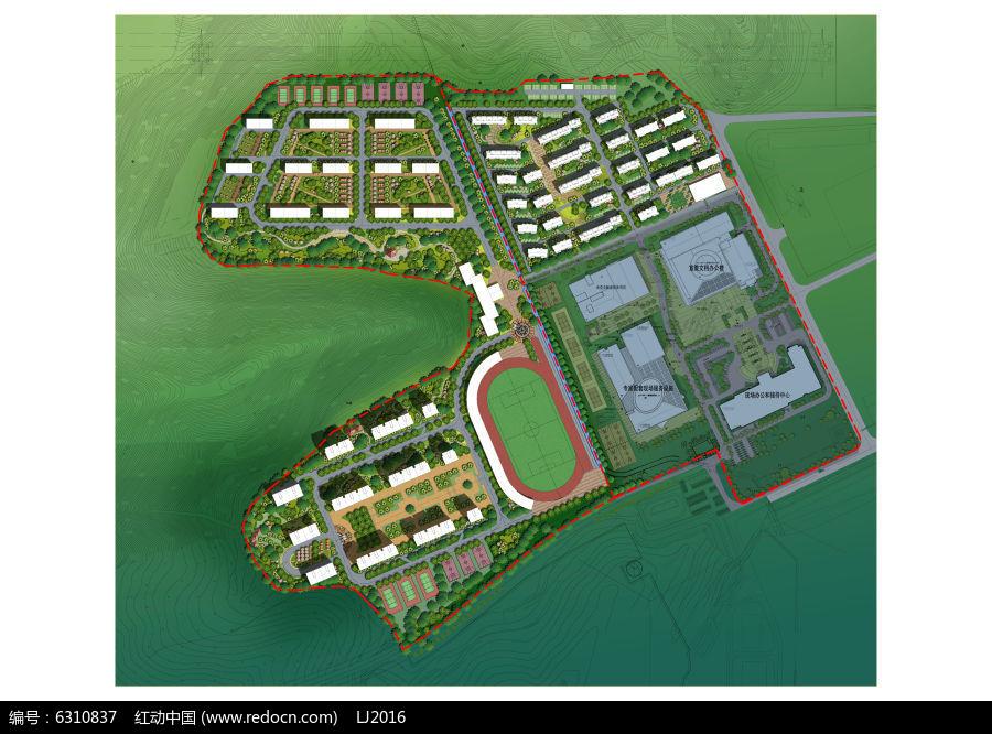 住宅公园规划设计PSD图片