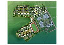 住宅公园规划设计PSD