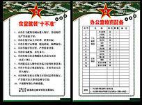 部队职责展板模板部队制度展板模板