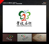 蝴蝶学校教育logo设计