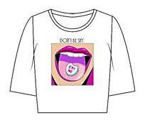 女装T恤款式印花图案设计