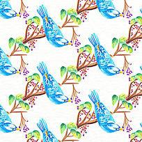 矢量图案鸟类素材