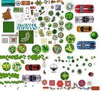 植物 小品平面素材PSD PSD
