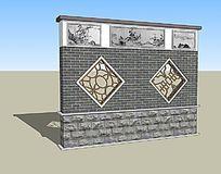中式古典围墙