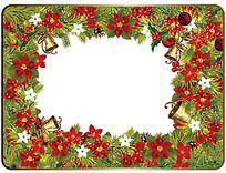 圣诞盘子图案设计