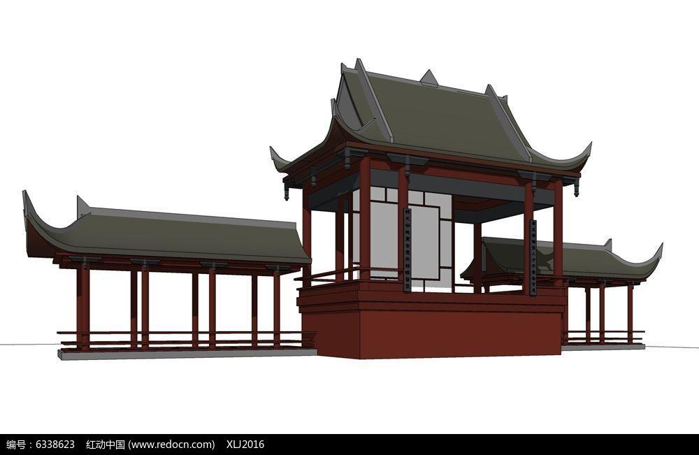 温州二层木结构古建