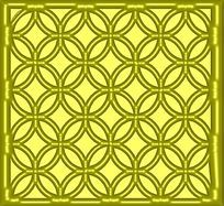 古典镂空花纹雕花图案