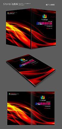 时尚黑色画册封面设计