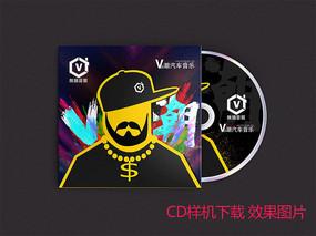 CD样机展示效果图片下载PSD文件