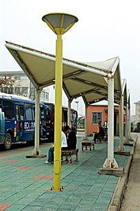 公交站牌景观灯