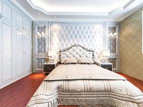 简单欧式卧室设计模型