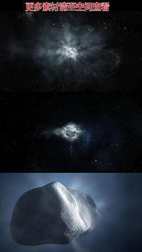 彗星陨石高清视频素材