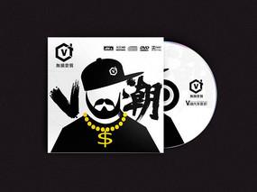 潮流时尚前卫嘻哈风格音乐光盘封面设计 PSD
