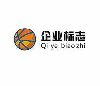 体育用品篮球图案标志设计CDR源文件