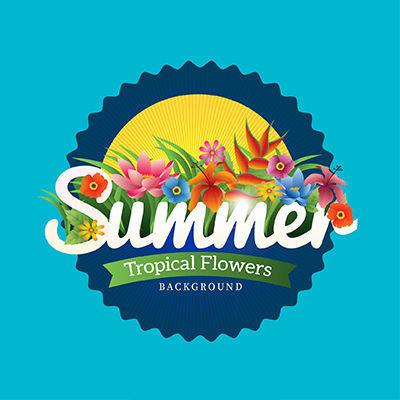 植物SUMMER设计图片