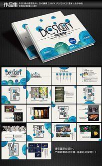 简约创意毕业作品集画册设计