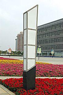 方形户外景观草坪灯 JPG