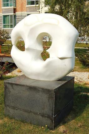 白玉石雕小品