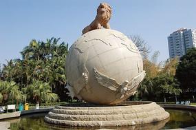 东方雄狮雕塑