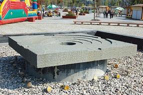 旱溪水景雕塑