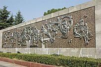历史文化雕刻景墙