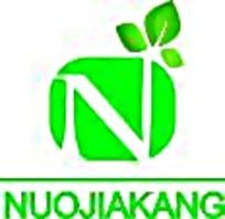 诺全康大气绿色食品logo设计