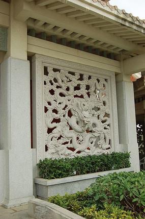 祥龙雕刻装饰石雕小品