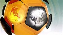 足球运动开场片头模板