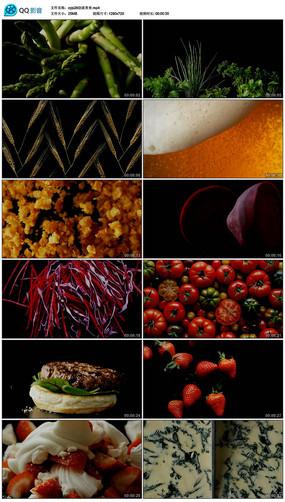 创意美食营养健康鉴赏视频