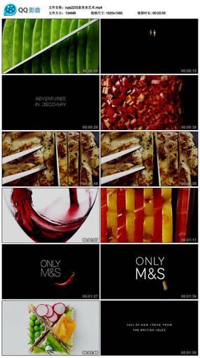 创意美食艺术视频素材