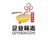 面食餐饮标志设计CDR模板下载
