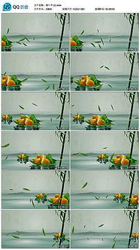 端午节移动粽子背景视频