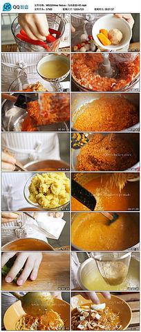 马来卤面美食烹饪视频 mp4