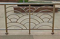 扇形花纹铁艺栏杆 JPG