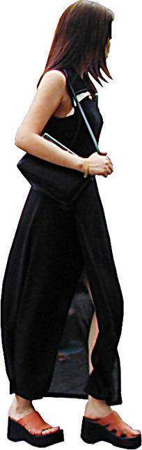 时尚的年轻女子PS素材 PSD