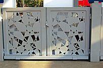 铁艺几何花纹护栏
