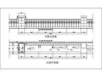 欧式铁艺栏杆CAD dwg