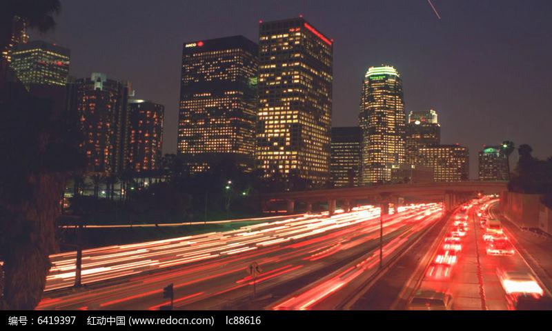 现代化大都市建筑鸟瞰