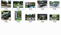 住宅景观方形水景意向图10P