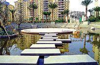 住宅景观水景汀步