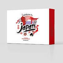 日本日式旅游美食产品包装设计