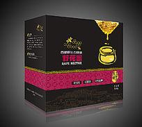 民族风西藏土特产野花蜂蜜盒包装