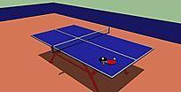 乒乓球台 skp