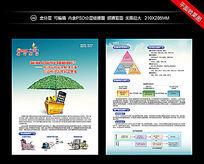 手机安全支付方案单页设计