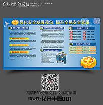 2016安全生产宣传栏学习展板