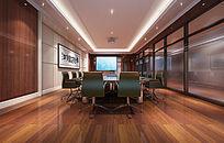 会议室3d效果图