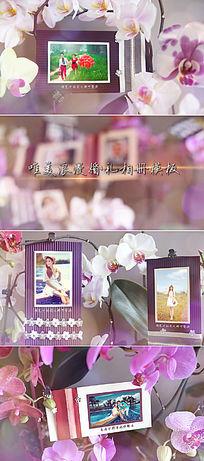 浪漫唯美婚礼相册视频片头模板