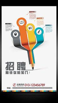 企业校园招聘海报设计